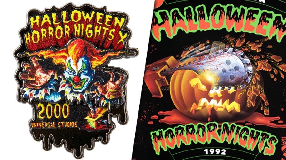 universal studios halloween horror nights anniversary collectibles