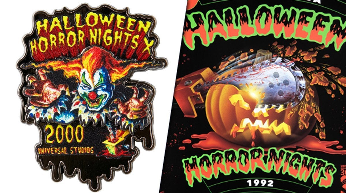 universal studios halloween horror nights anniversary collectibles