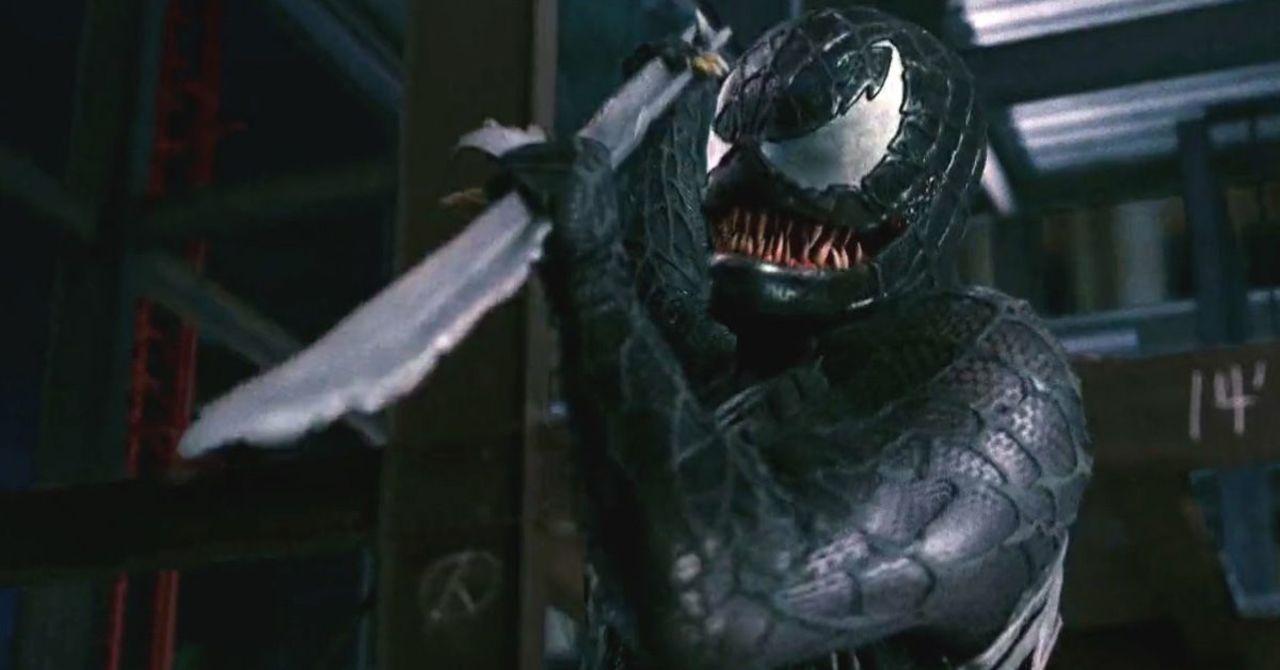 Spider-Man 3's Original Venom Animatronic Is Terrifying