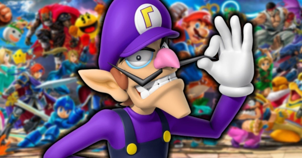 waluigi super smash bros