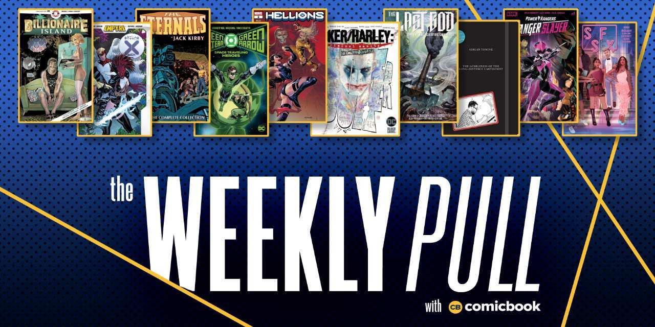 weekly pull week of july 22nd