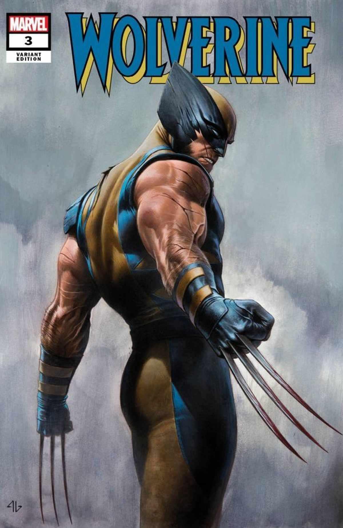 Wolverine 3 Adi Granov Variant