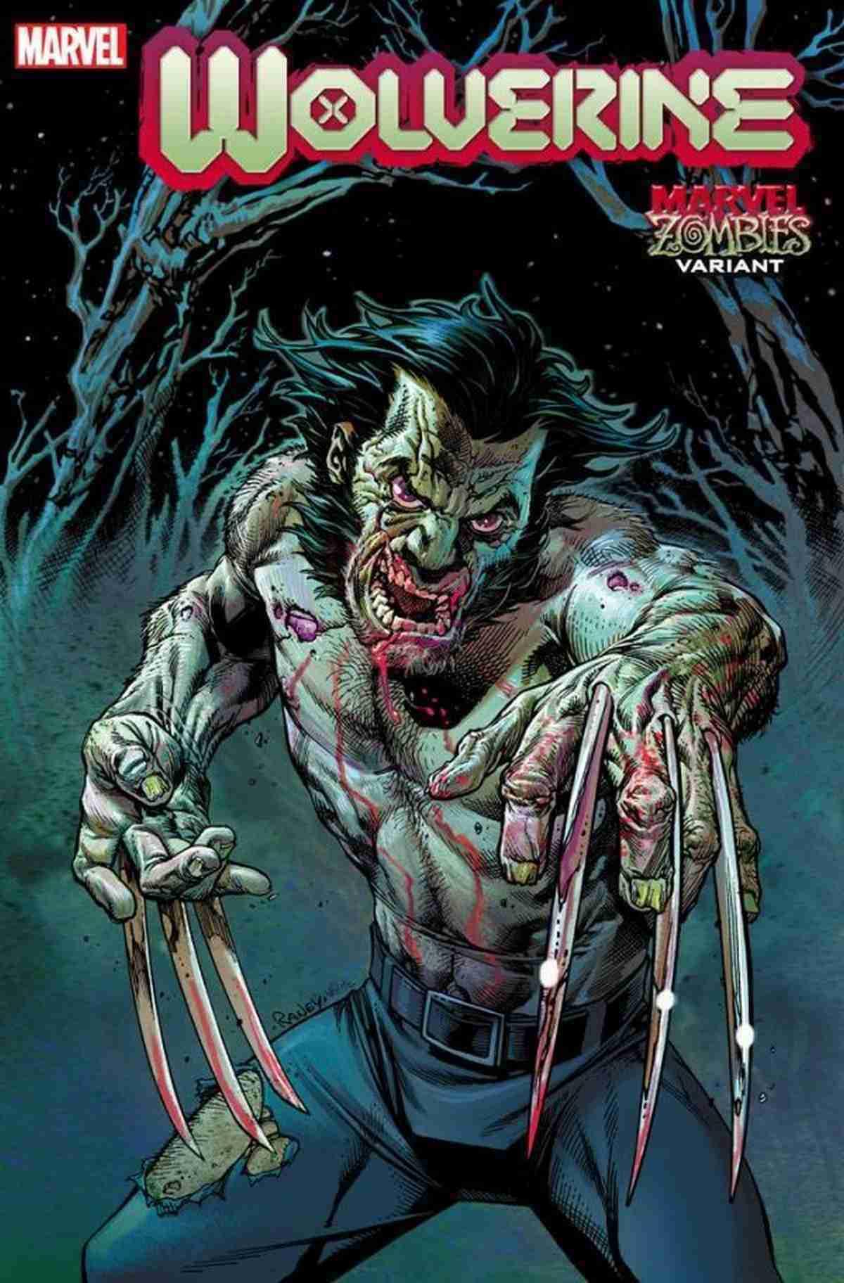 Wolverine 3 Marvel Zombies Variant