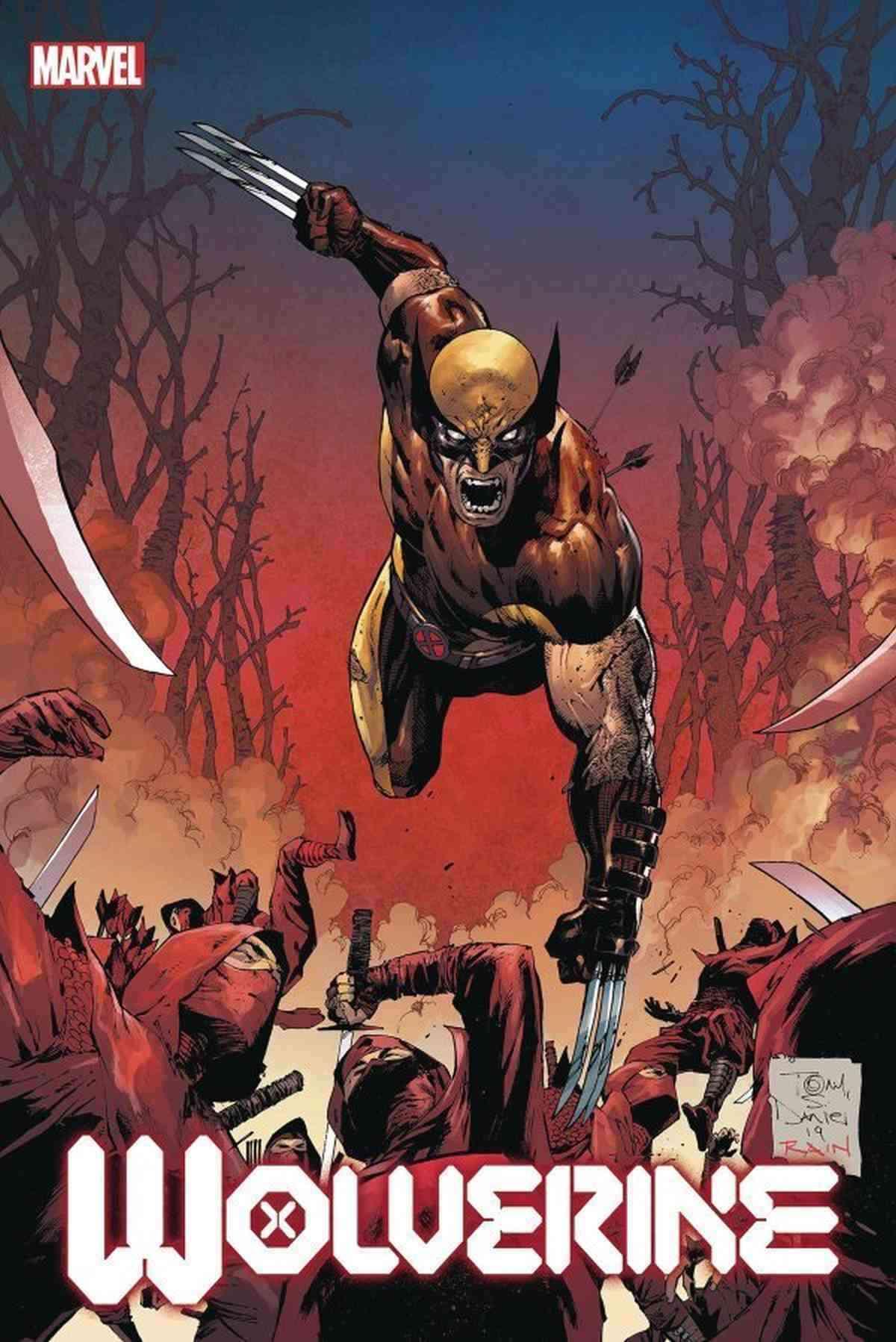 Wolverine 3 Tony Daniel Variant
