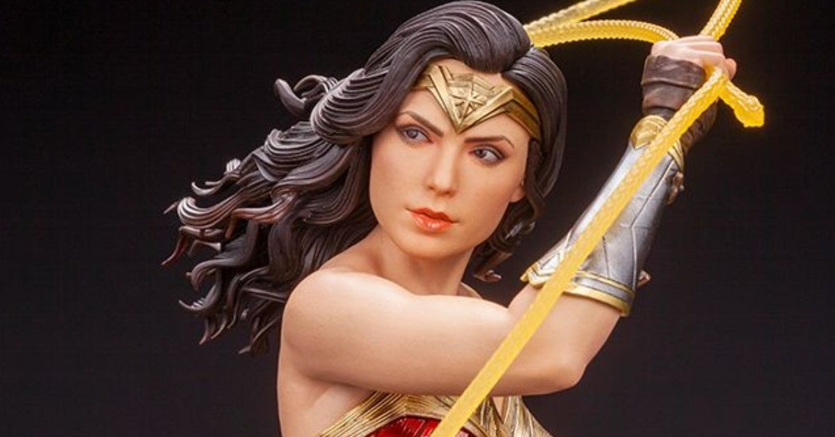 wonder woman 1984 artfx kotobukiya