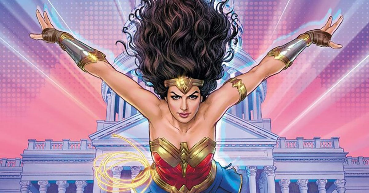 wonder woman 1984 tie in comic book