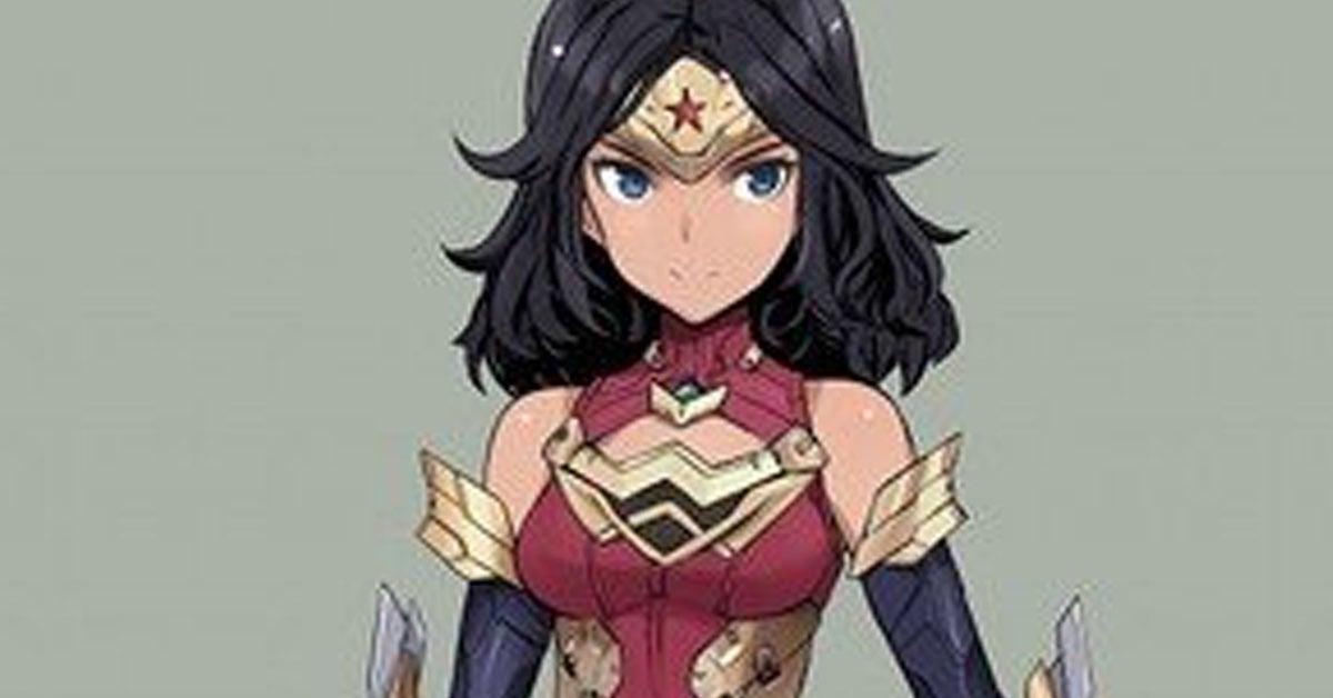 wonder woman anime