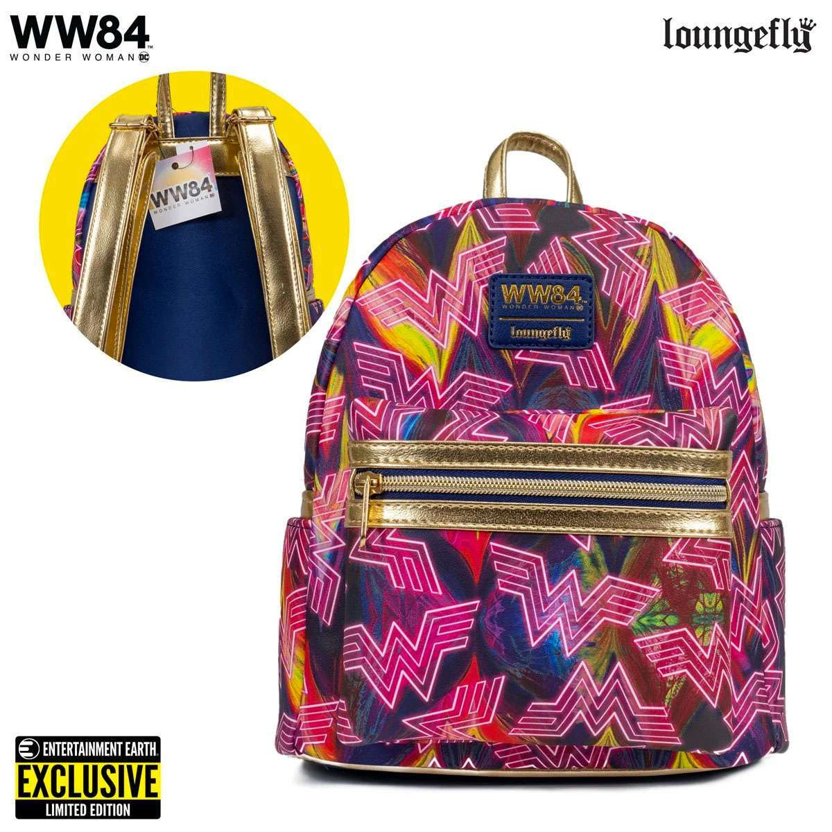 Wonder Woman 1984's Rad Loungefly Mini Backpack SDCC Exclusive is Live