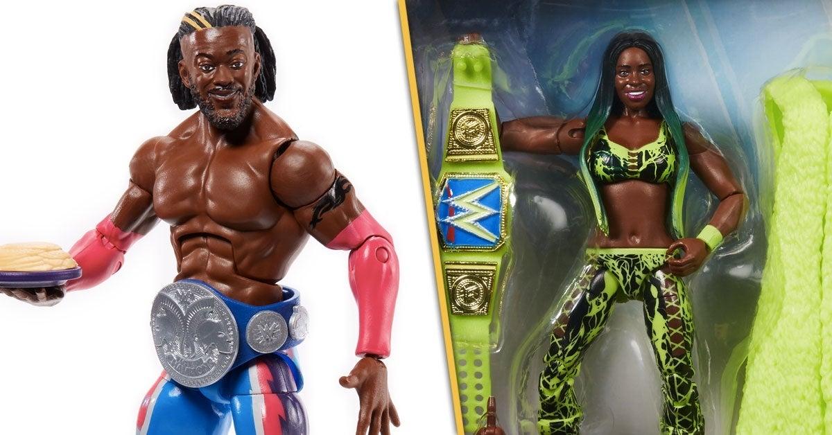 WWE-Elite-Series-78-Header-Kofi-Kingston-Naomi