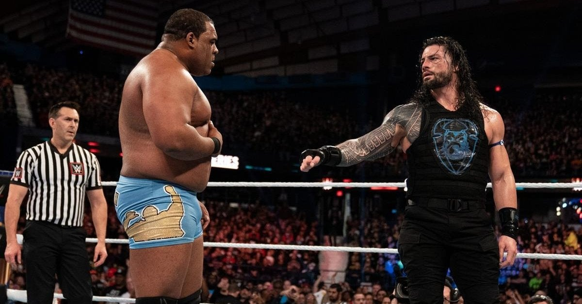 WWE Roman Reigns Keith Lee