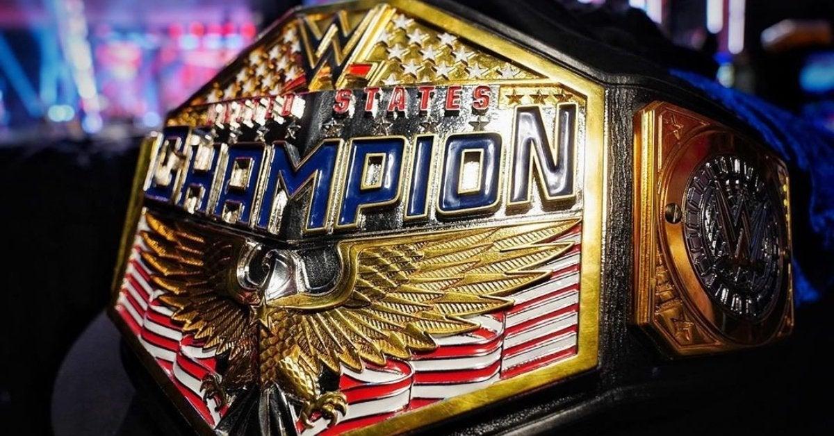 WWE United States Championship New Design