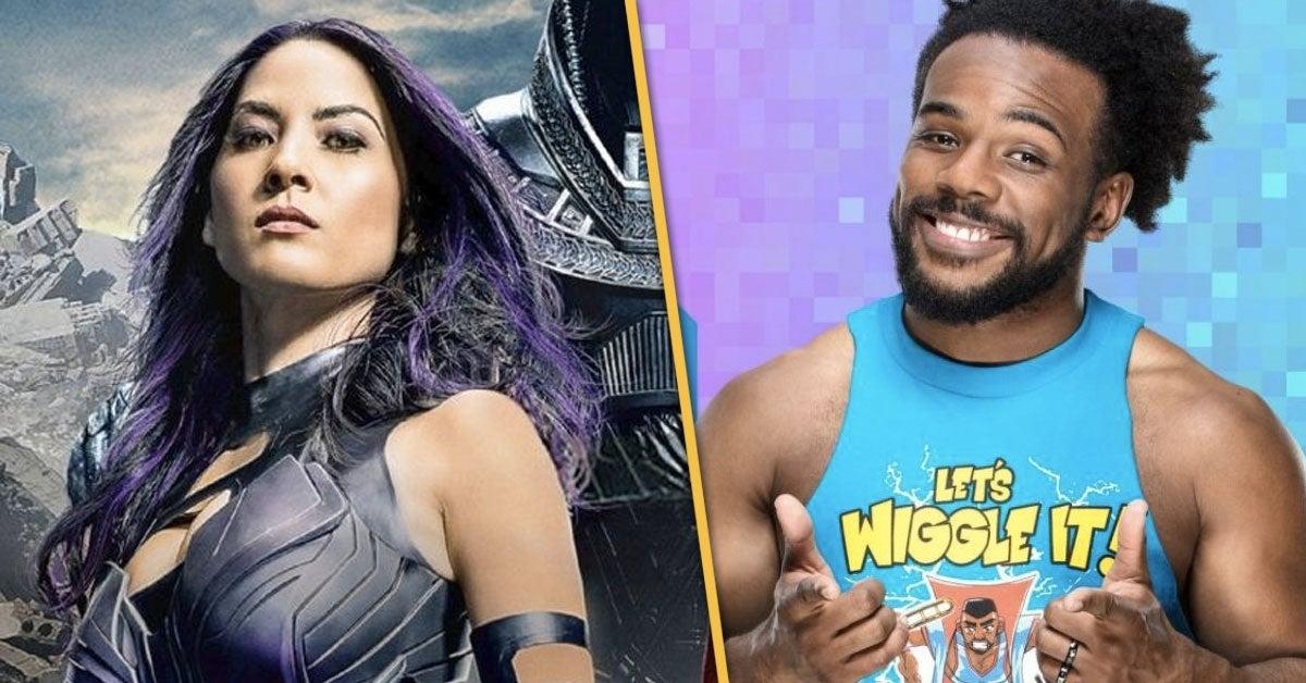 WWE-Xavier-Woods-G4-Olivia-Munn