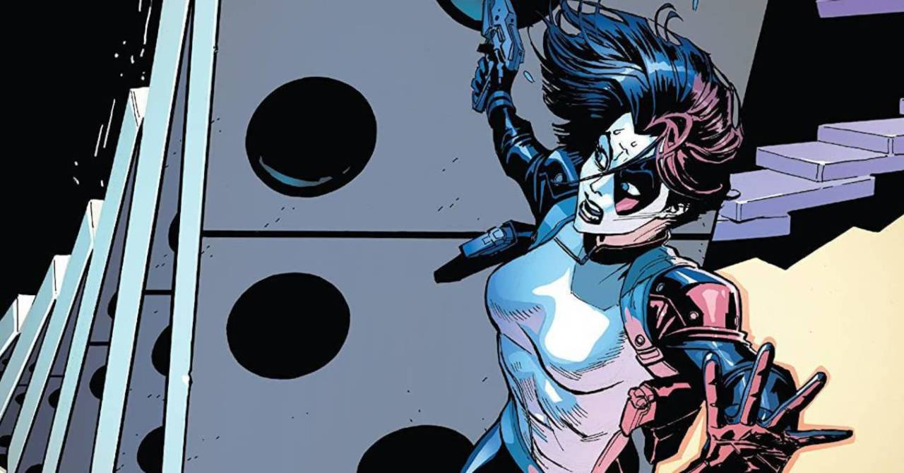 x-men characters, If Hawkeye were to face off against Domino, chances are all his arrows would miss her.