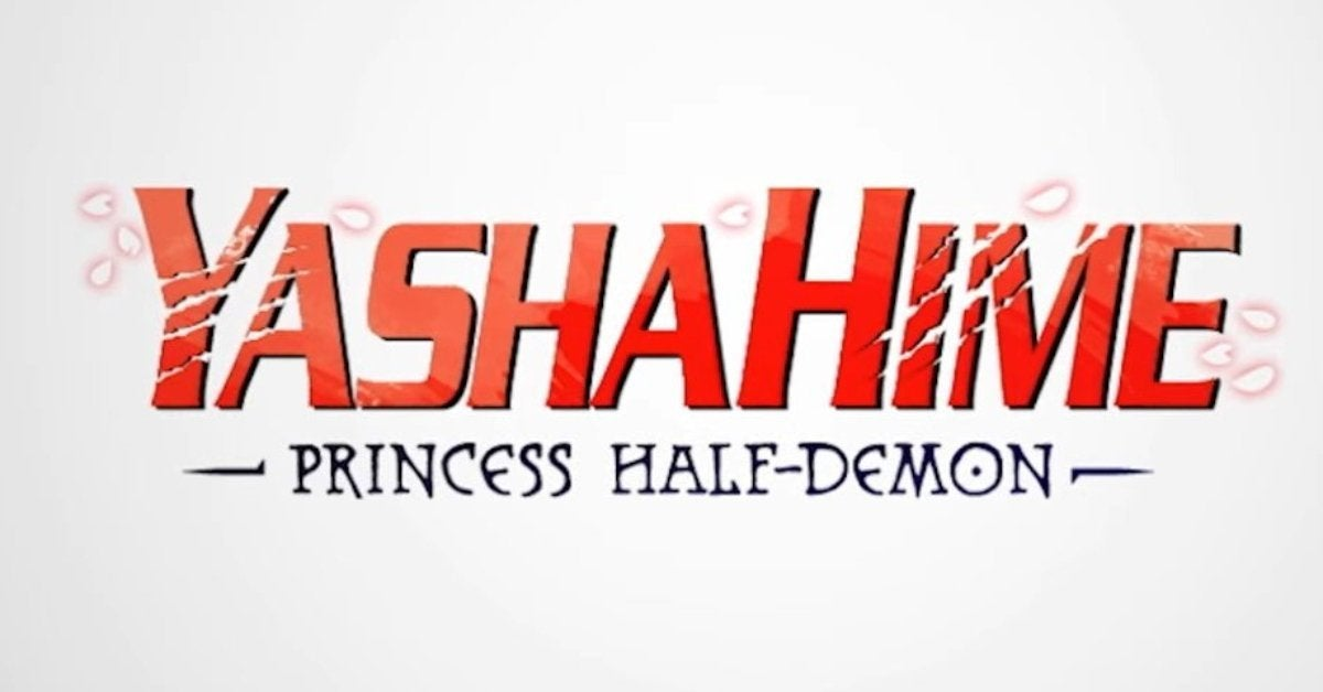 Yashahime Princess Half Demon Inuyasha Sequel Logo