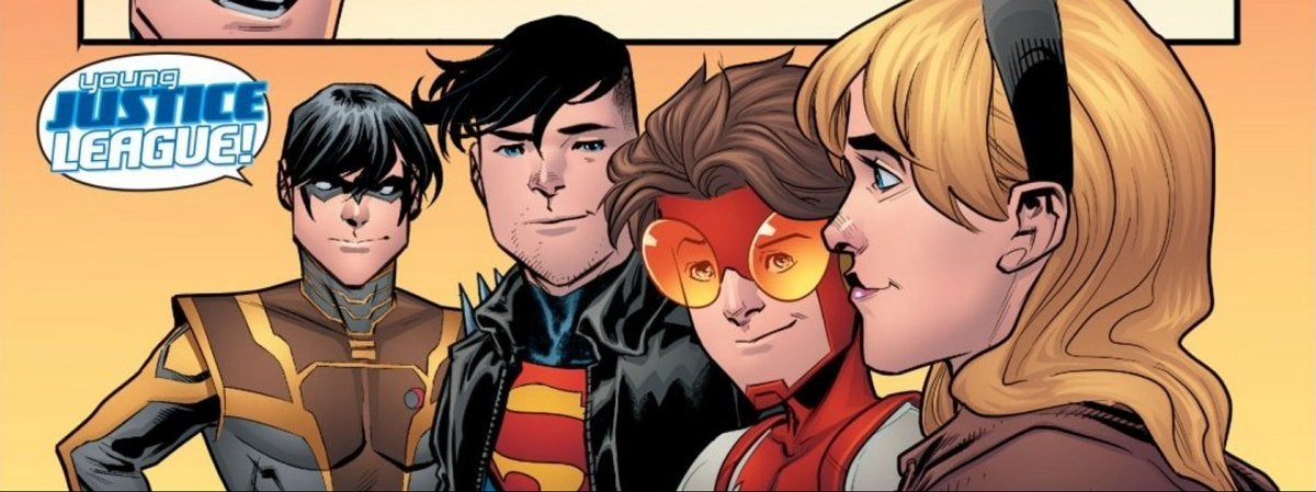 DC Gives Young Justice a New Name