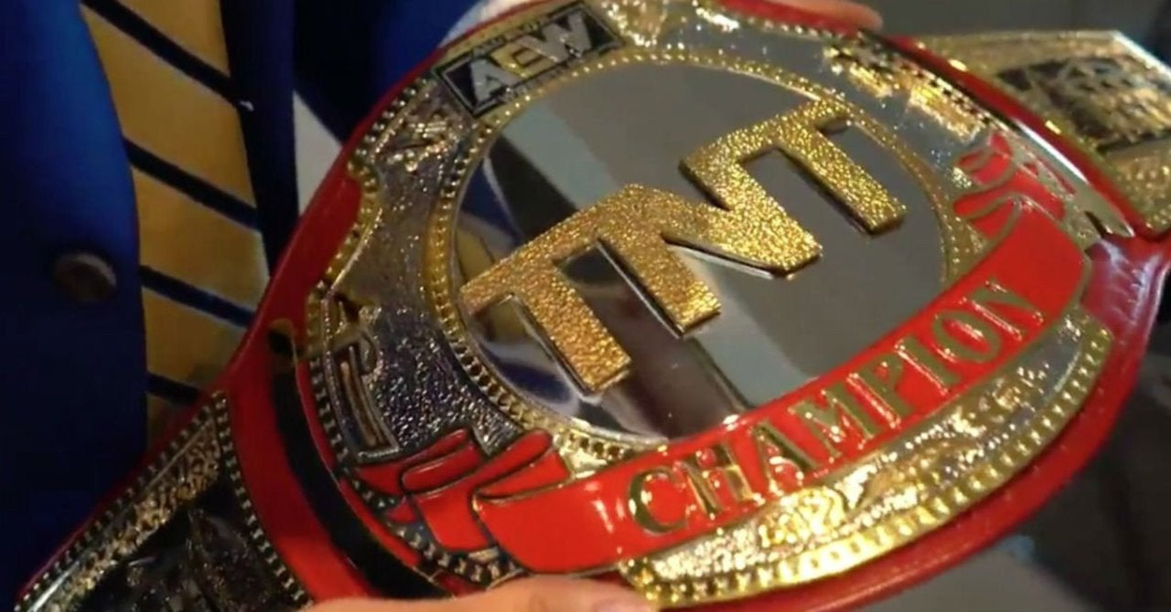 AEW Fans Praise the Final Version of the TNT Championship