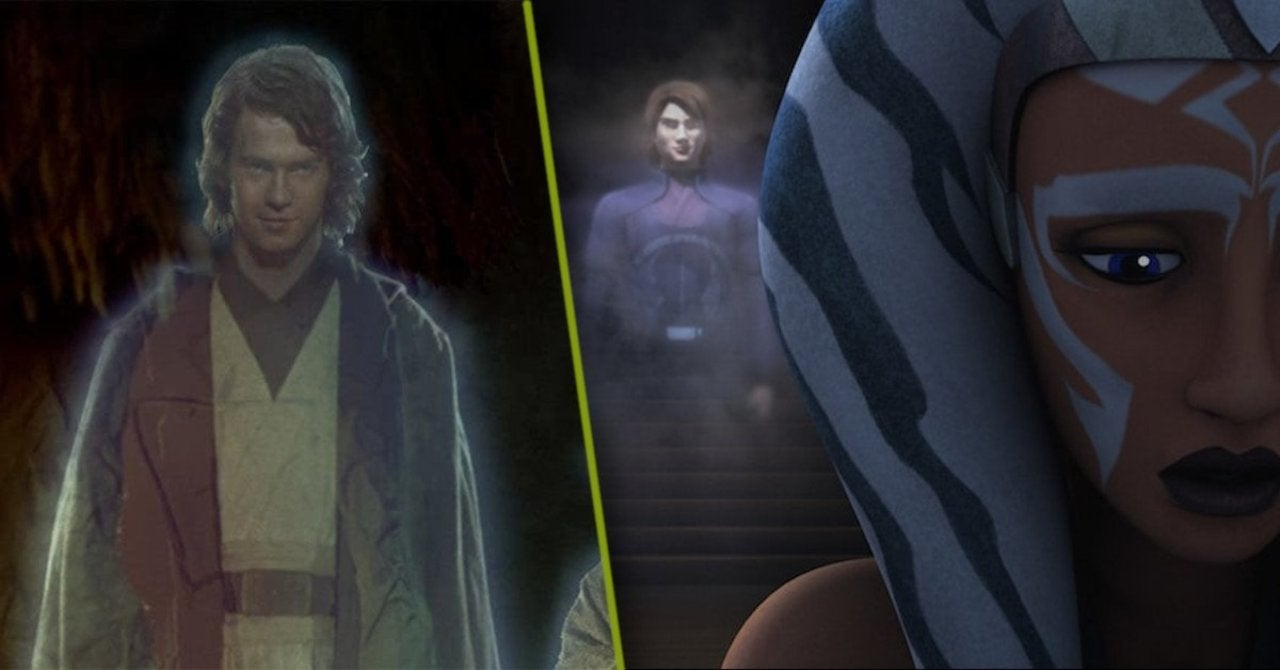 Star Wars: The Clone Wars Cut Explanation for Anakin's Force Ghost Return