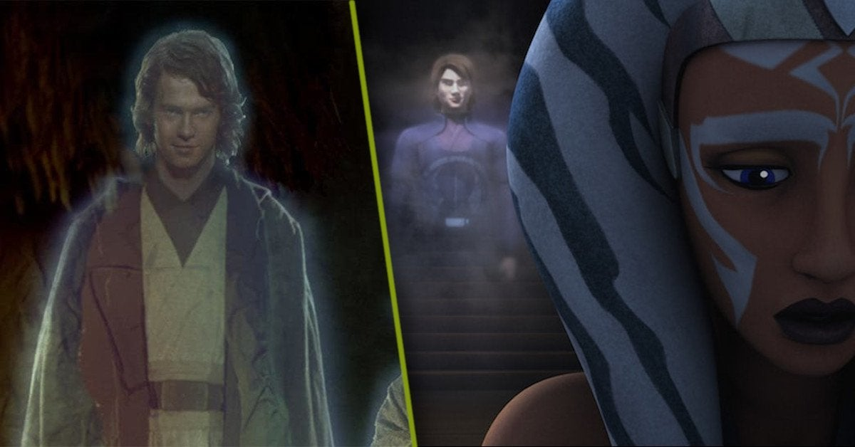 Anakin Skywalker Force Ghost Star Wars