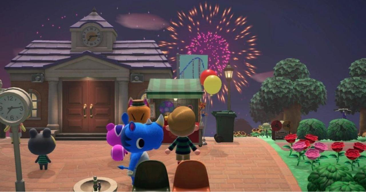 Animal Crossing Fans are Showing Off Fireworks Based on BTS, Child's Play, and More