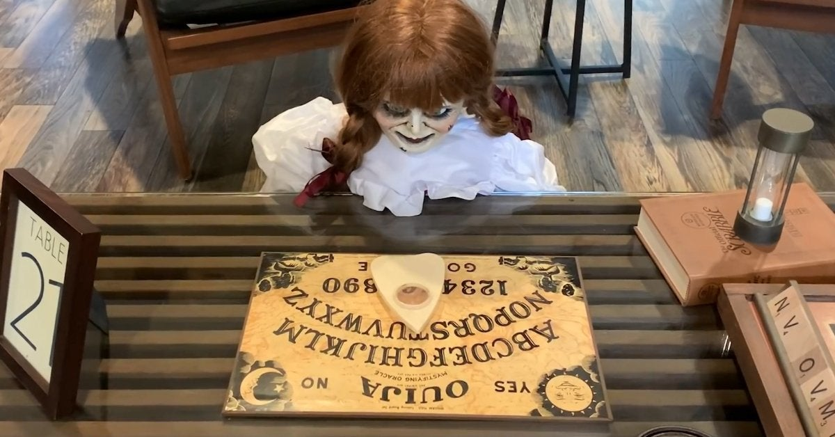 annabelle quarantine video conjuring