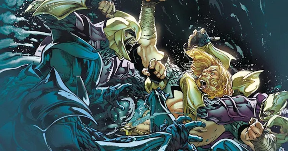 Aquaman Ending Canceled DC Comics