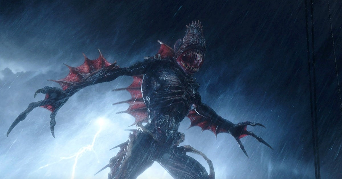 Aquaman Trench monsters James Wan