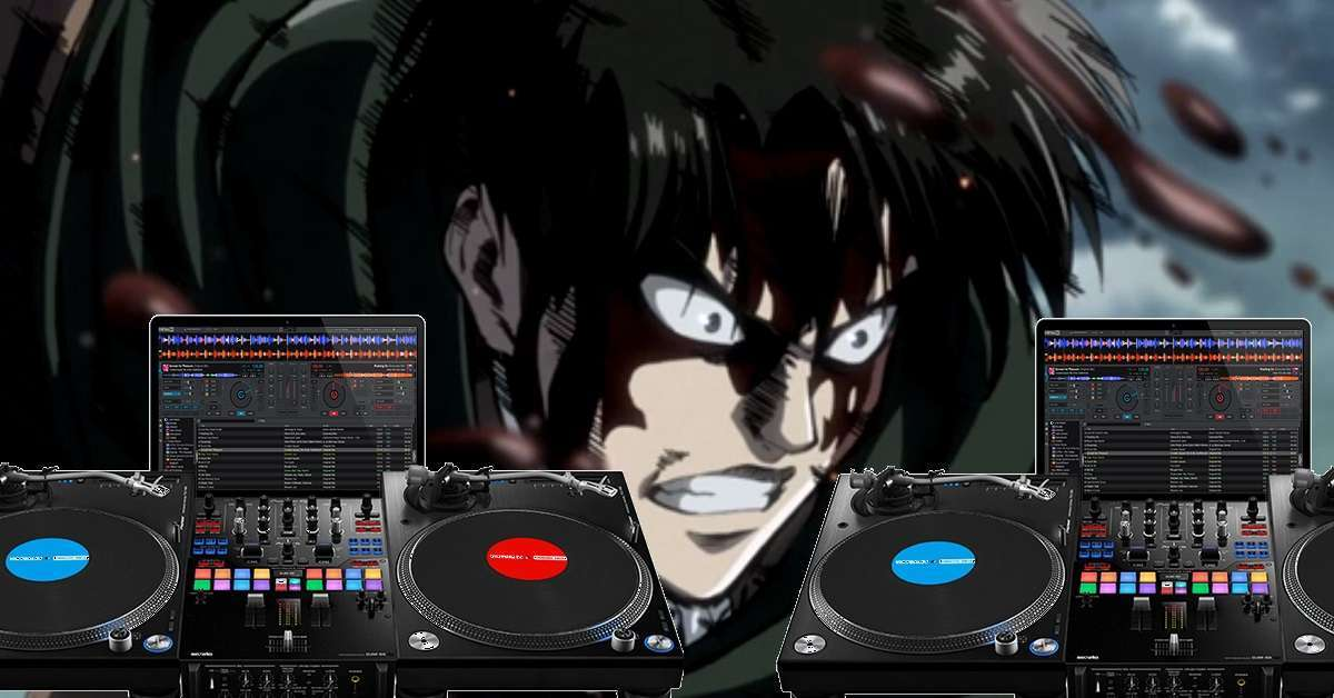 Attack On Titan DJ Turn Table