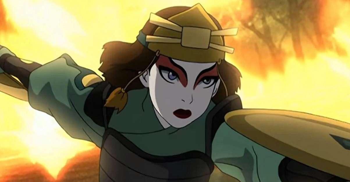 Avatar Suki Cosplay
