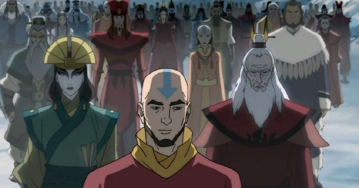 Avatar The Last Airbender All Avatars