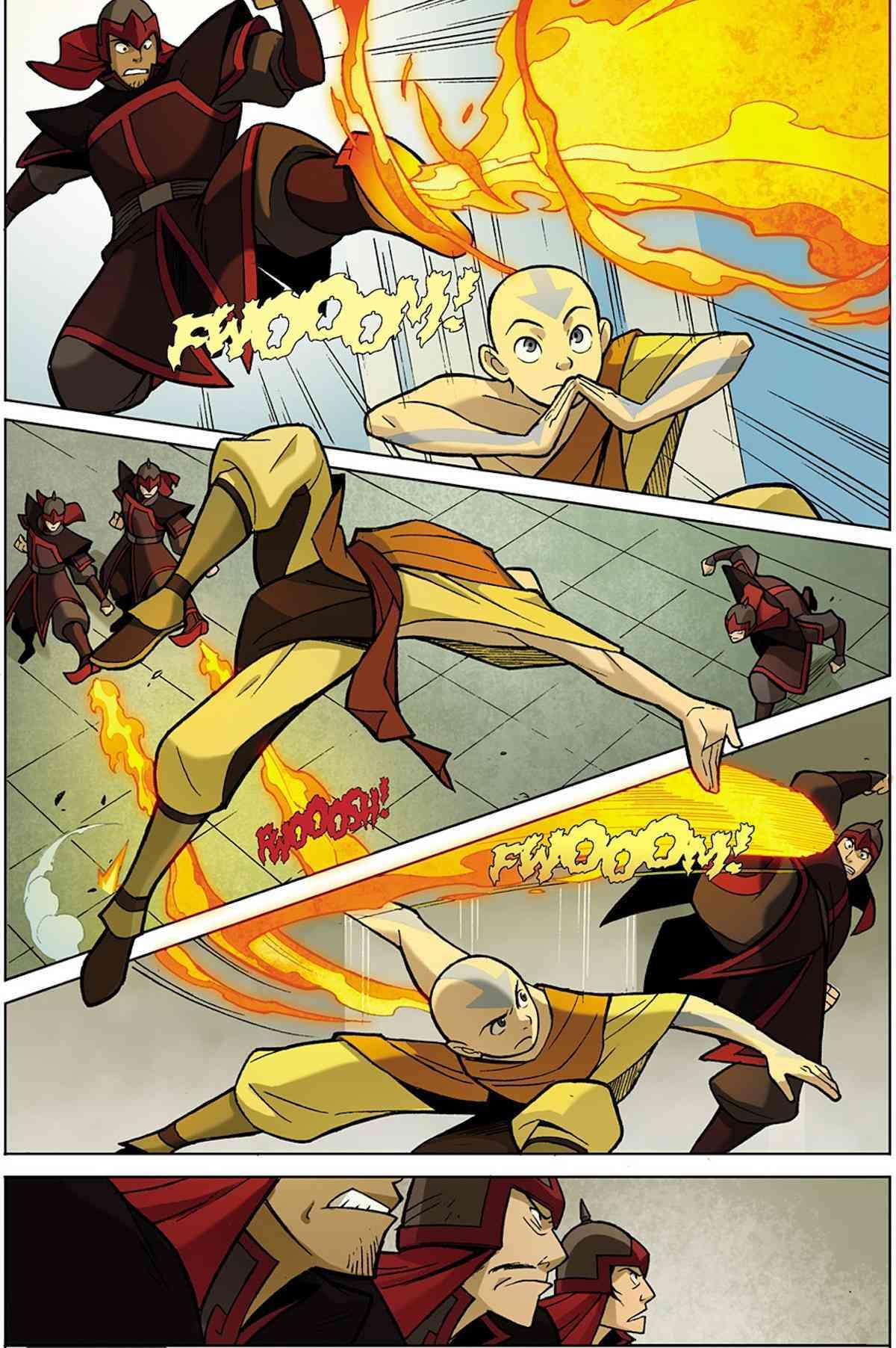 Avatar the Last Airbender Comics