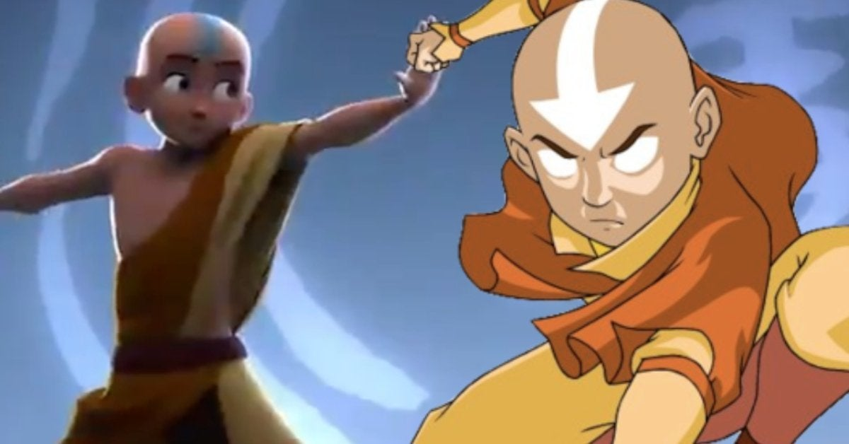 Avatar The Last Airbender Opening CG Remake Viral Video
