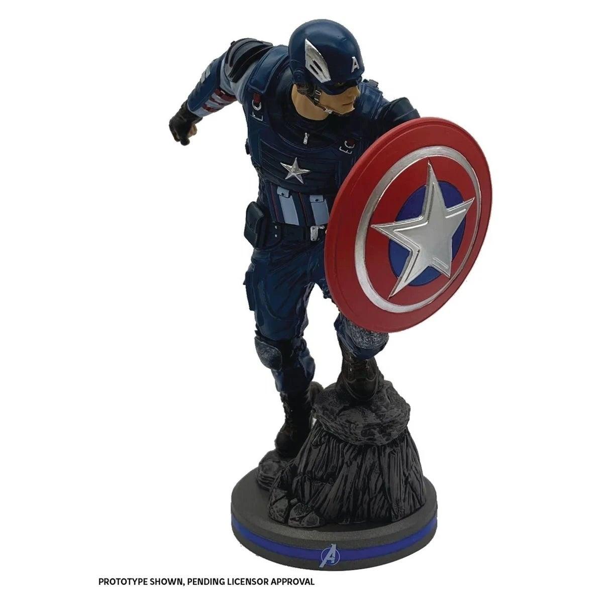 avengers captain america statue 1