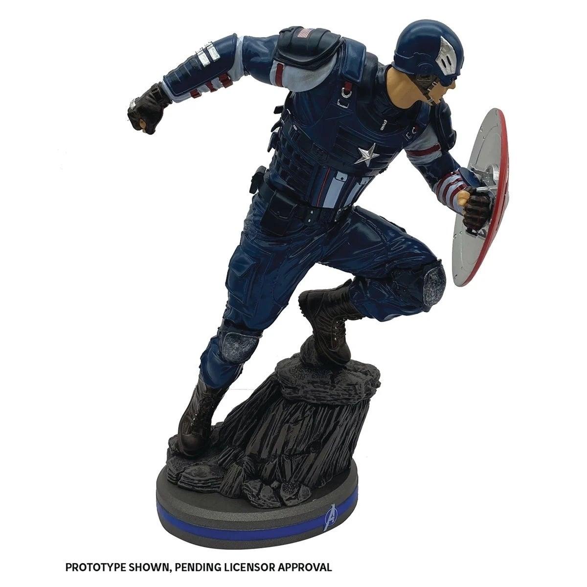avengers captain america statue 2