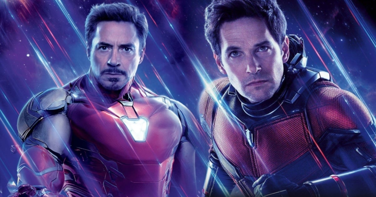Avengers Endgame Iron Man Ant-Man Paul Rudd Robert Downey Jr ComicBookcom