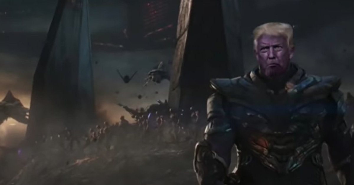 avengers endgame trump rnc parody