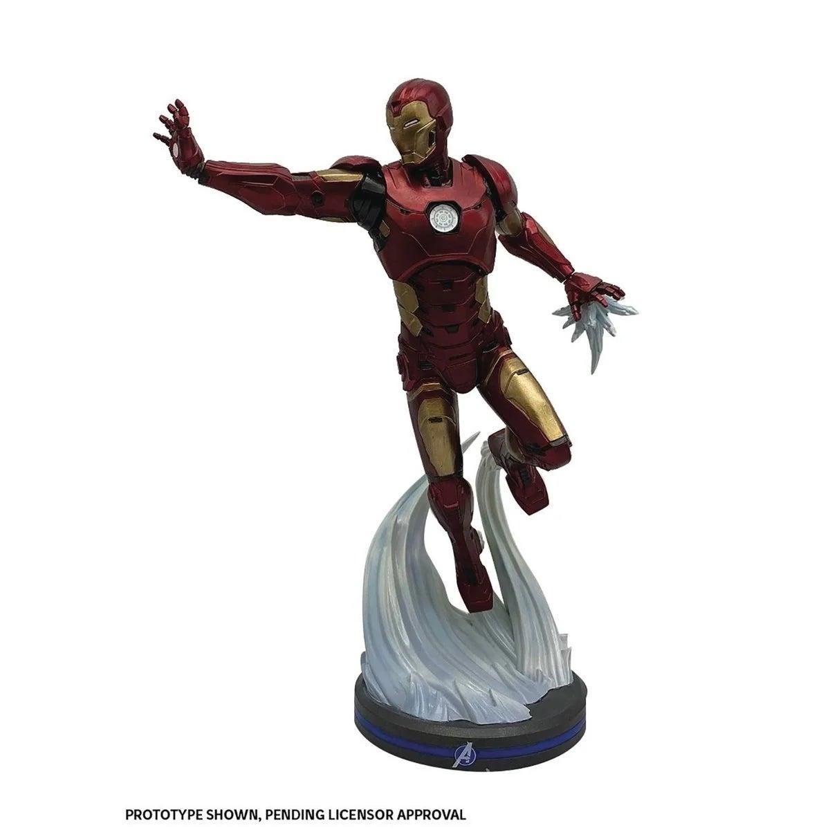 avengers iron man statue 1