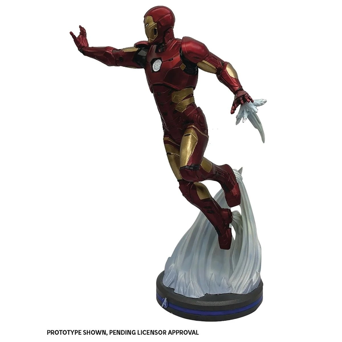 avengers iron man statue 2