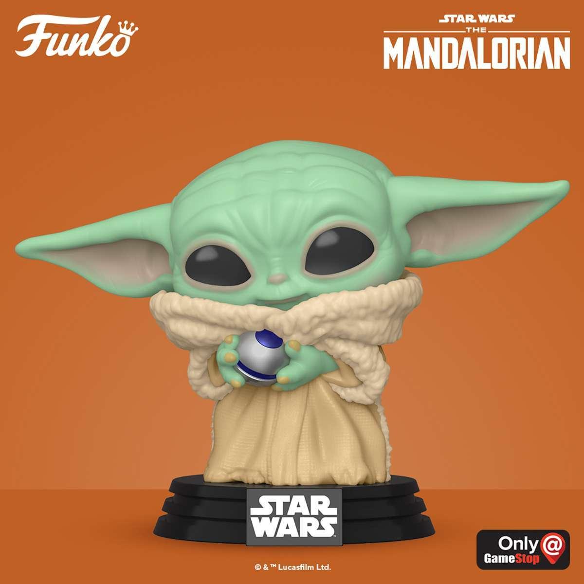 Funko Pop The Child With Control Knob! Mandolorian Series Star Wars!!