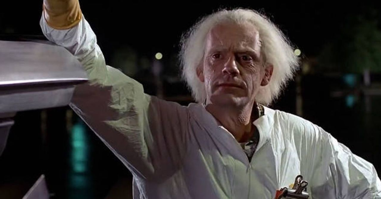 Back to the Future Scribe Reveals How Doc Brown Illegally Funded Time Traveling Experiments