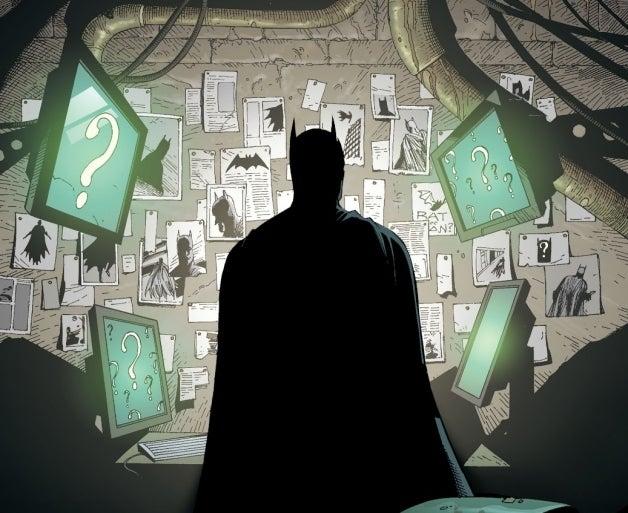 Batman Earth One Volume 2 Riddler