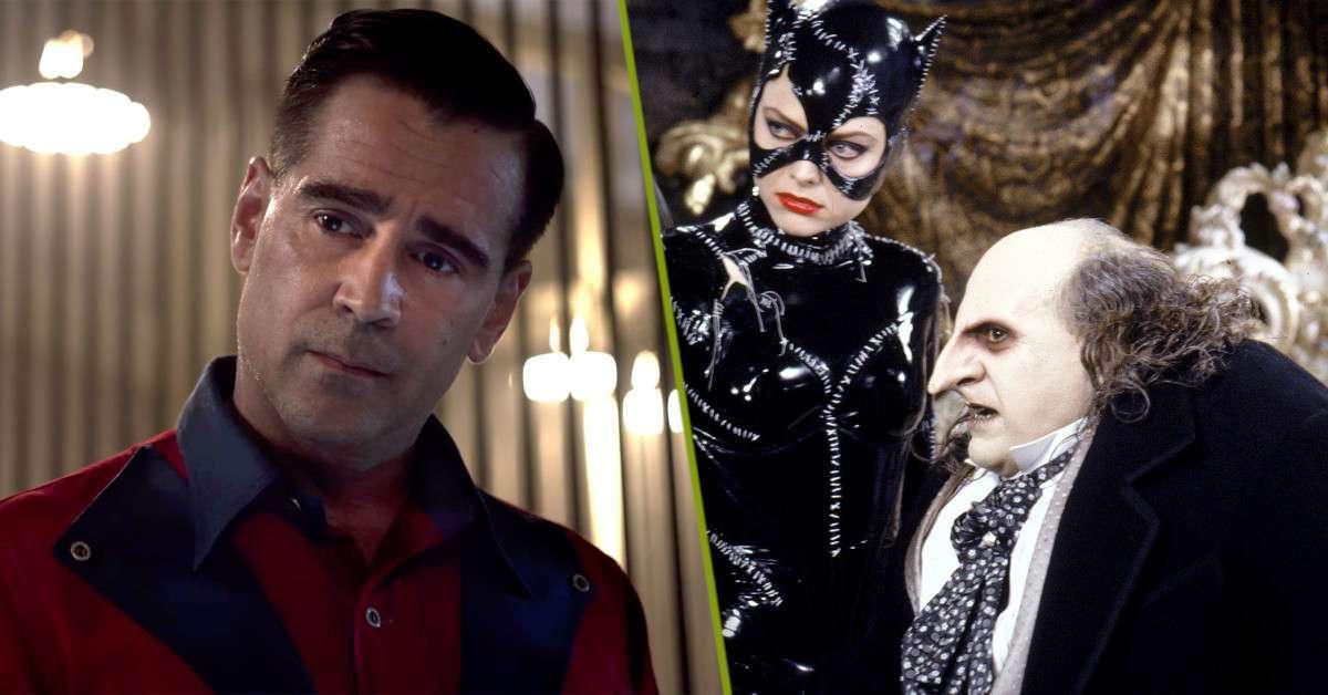Batman Penguin Danny DeVito Colin Farrell