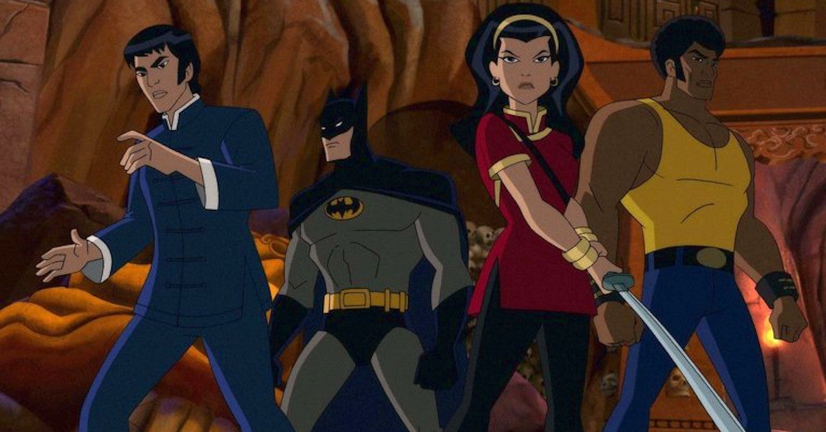 Batman Soul of the Dragon Animated Movie Voice Cast First Look