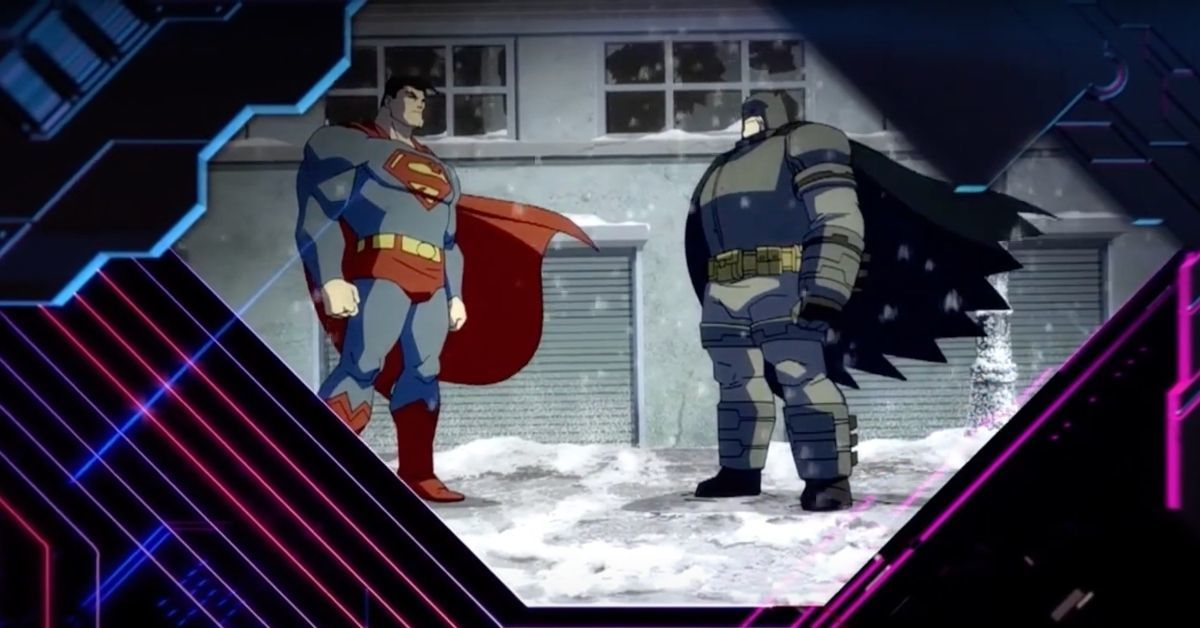 Batman The Dark Knight Returns Part 2 Toonami Promo