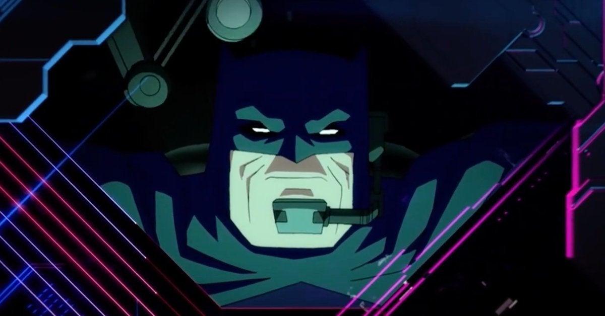 Batman The Dark Knight Returns Toonami Promo