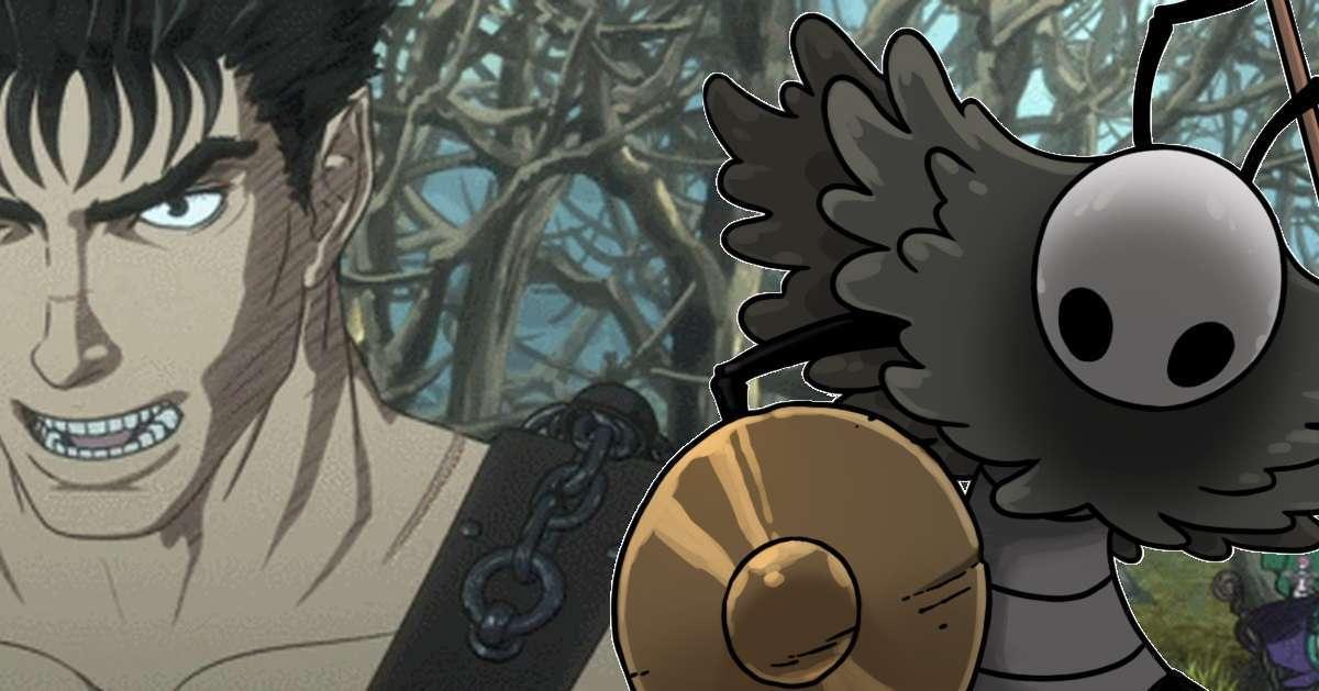 Berserk Hollow Knight Fusion Art