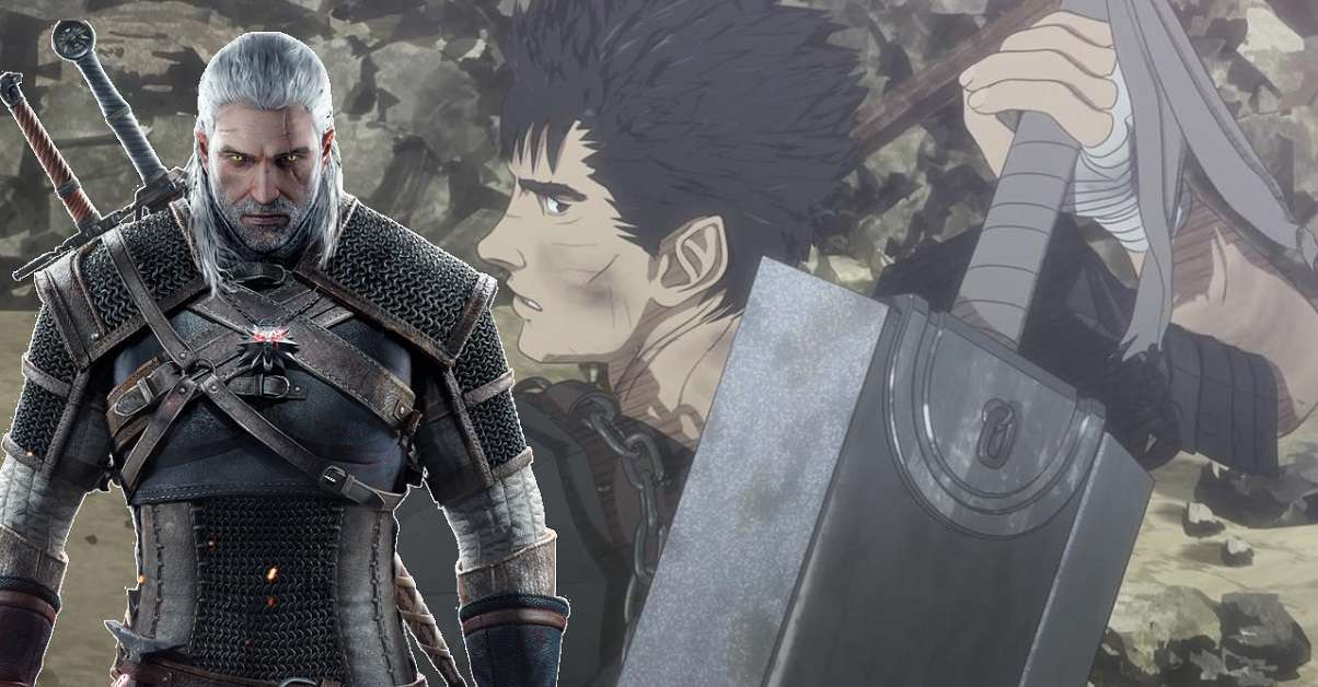 Berserk The Witcher Game Mod Anime