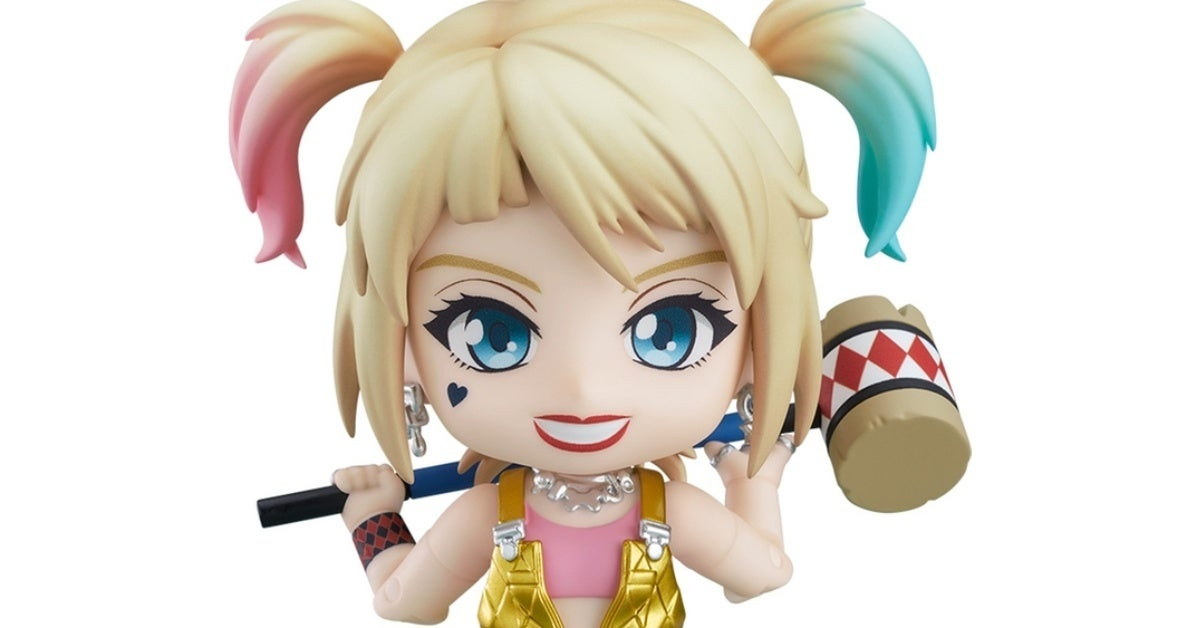 birds of prey harley quinn nendoroid figure