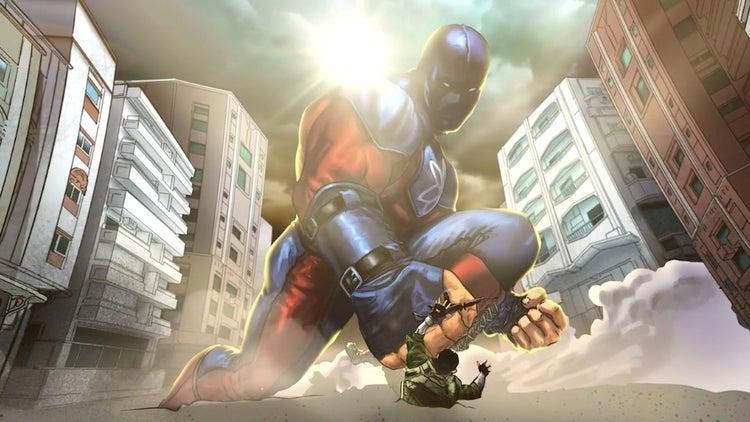 black adam atom smasher concept art