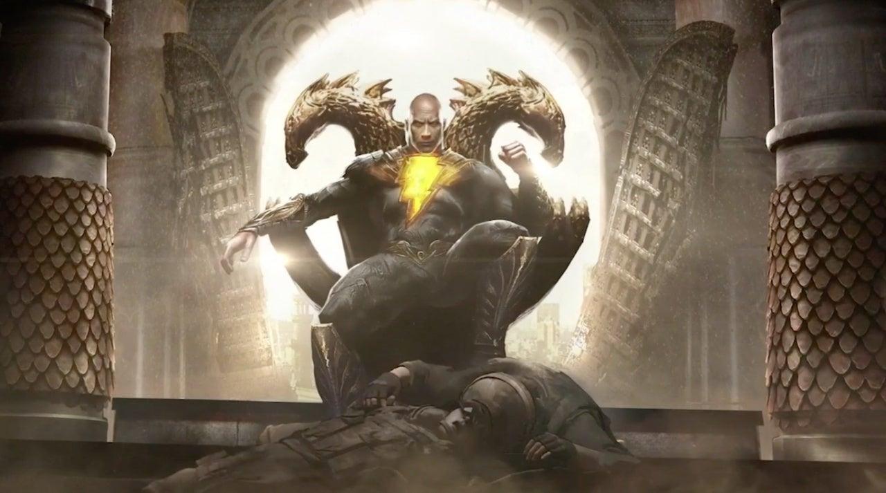 black adam concept art dc fandome