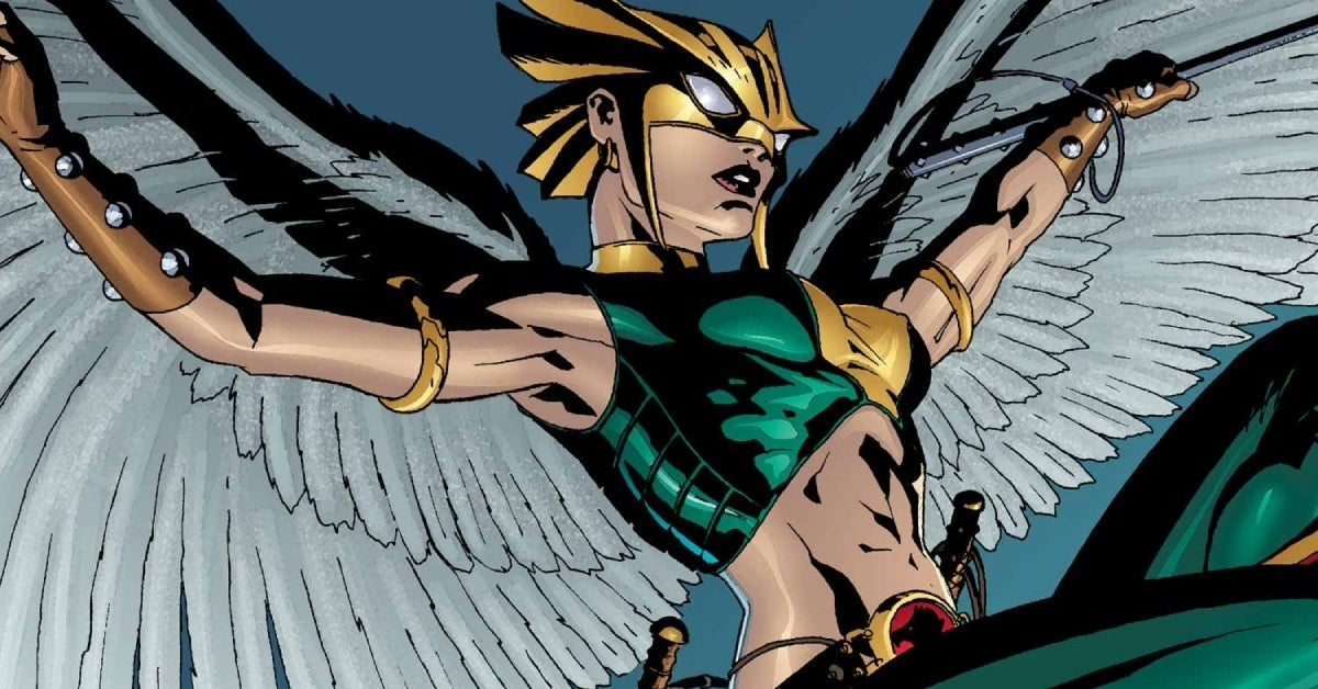 black adam hawkgirl